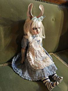 Mari Shimizu 球体関節人形「うさぎ耳のアリス」 淑女雑貨Toe Cocotte