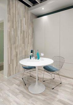 #Deco #Hogar #Revestimiento #Porcelanato Tablas abedul, perfecto para ambientes claros.