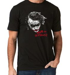 Batman - movie #inspired - new - joker face - #heath #ledger - cult movie - s-xl,  View more on the LINK: http://www.zeppy.io/product/gb/2/152176045834/