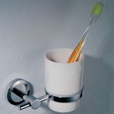 Phoenix toothbrush holder