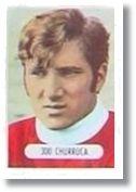 Churruca. España 1971-72. Cromos Ruiz Romero. Extremo izquierdo.