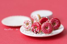 Hey, I found this really awesome Etsy listing at https://www.etsy.com/listing/127368745/red-donut-earrings-food-jewelry-donut