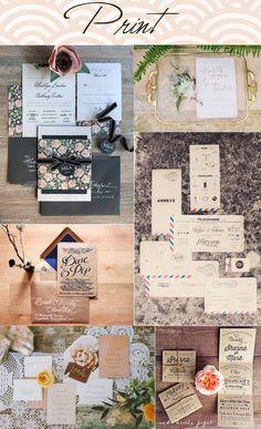 Nous sommes en pleine saison des mariages. Il vous manque peut être quelques idées voici un tableau d'inspiration pour les mariages d'ambiance Vintage.