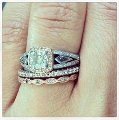 Vintage rings.... Loveee these.