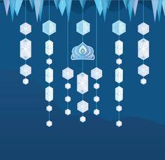 Elsa-Inspired Wall Hanger