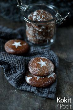 Kokit ja Potit -ruokablogi: Pehmeät suklaakeksit