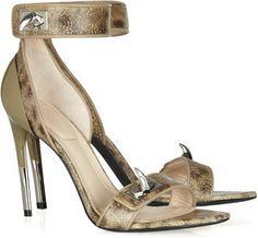 ShopStyle: Givenchy Embellished wolffish sandals