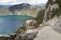 A detailed guide on the Quilotoa Loop Hike. An epic multi-day hike to the stunning Quilotoa Lake formed in a volcanic crater high in the Ecuadorian Andes. Stay Overnight, Day Hike, Quito, Mountain Range, Highlands, Hiking Trails, Alps, Day Trips, The Locals