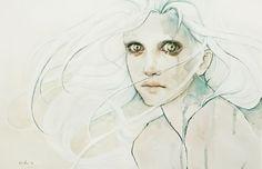 opale. by agnes-cecile.deviantart.com on @deviantART