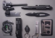 10 in 1 Professional Survival Field Kit - ZombieSurvivalStuff - 2 Best Survival Gear, Outdoor Survival Gear, Survival Items, Survival Tools, Stainless Steel Bottle, Groomsman Gifts, Gears, Nifty, Camping