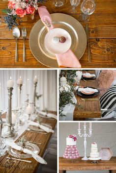Many weddings are bidding farewell to table cloths and runners and opting for raw wooden tops, (Pantone colour of the year: 2017) greenery and nature-like décor.