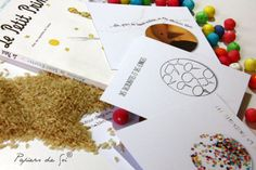 Faire-part autour du mot grain (grain de riz, grain de beauté, grain de folie...)