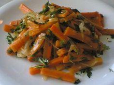 Yemek ve Biz: Sarımsaklı Soğanlı Havuç