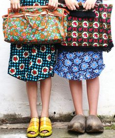 Pattern clash outfits. 50 crafty things to do before you're 50. Image credit: ingthings.com