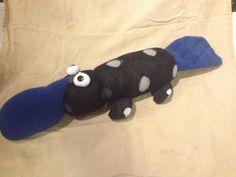 Sock platypus   Order custom sock animals at www.facebook.com/MBinAK