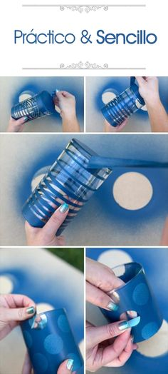 ¡Hazlo tu misma! Utiliza un vaso y dale un toque decorativo con estos sencillos pasos.