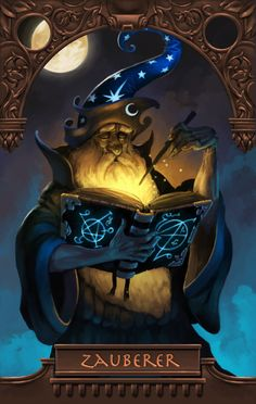 Wizard by *Scebiqu on deviantART In a way, we are magicians. We are alchemists,  sorcerers and wizards. We are a very strange bunch. But there is great  fun in being a wizard.  ~Billy Joel