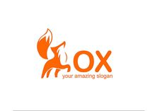 Fox Logo Design - Brannet Market Fox Logo, Professional Logo Design, Business Logo, Slogan, Marketing