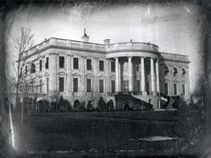 First known photo of White House: an 1846 photograph by a civil engineer, entrepreneurial photographer and immigrant named John Plumbe, Jr.