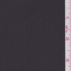 Pewter Grey Wool Suiting