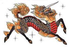 Image result for kirin tattoo