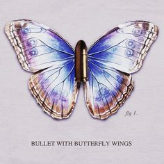 Bullet With Butterfly Wings [Smashing Pumpkins] Art Print