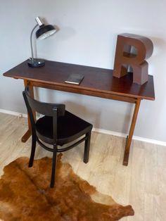 Schultisch  alter Schultisch altes Pult Lehrerpult Schreibtisch zum Aufklappen ...