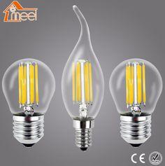 Meel Retro LED Bulb E27 E14 LED Lamp 220V 240V LED Filament Light 2W 4W 6W 8W Glass Ball Bombillas LED Edison Bulb Light