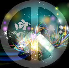 ☮✌~Paz~✌☮ Peace ⊰❁⊱ Mandala ⊰❁⊱☮✿ڿڰۣ(̆̃̃ ❤