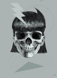 El artista y los diseñadores de cráneos - Taringa!