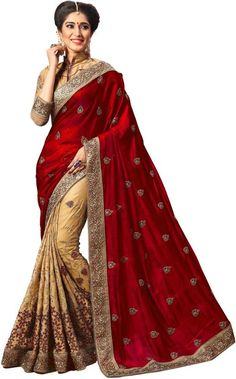 4d9d7bd571fc5 UJJWAL CREATION Embroidered Fashion Silk Saree (Multicolor) Work Sarees