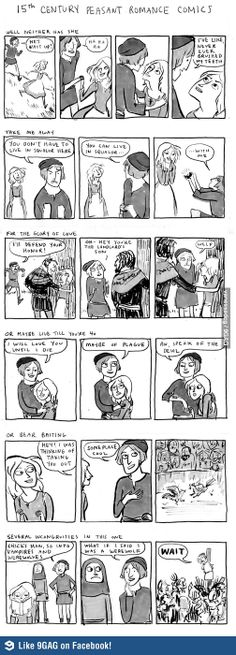Medieval comics