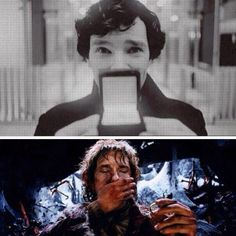 Haha, I don't ship Johnlock, but I couldn't resist pinning this - clever!