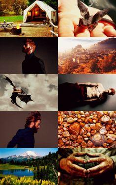 Charlie Weasley aesthetic