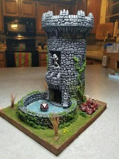 Now that's a dice tower.