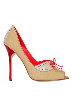 I believe these shoes would be a perfect choice for Valentine's Day. With the red detailing it's not too overwhelming.