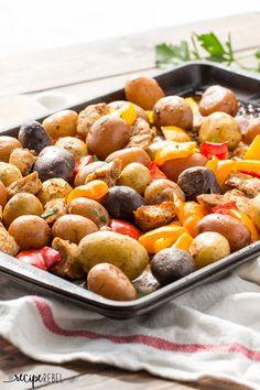 Chicken Fajita Sheet Pan Dinner   25 One-Dish Meal Ideas That Aren't Pasta