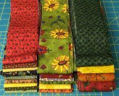 How to make a fabric strip basket