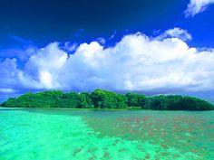 Los Castillos Island, Los Roques National Park DF Venezuela