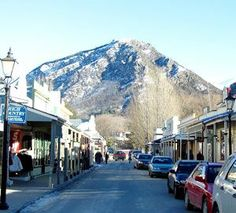 Historical Arrowtown New Zealand I love historic parts of towns so charming! #travelcompanion