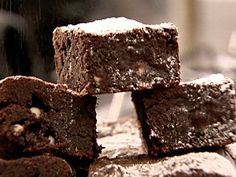 triple chocolate brownies...cuz I don't like just one level of chocolate :)
