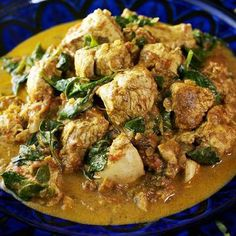 Mariano's - Pork and Spinach Curry