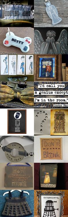 The Doctor by Gabbie on Etsy #etsy #treasury #doctorwho