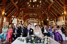 A great photo of the Barn at Smeetham Hall Barn - romantic wedding venue  Essex