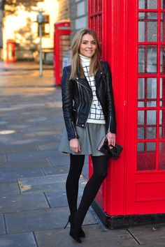 WHITE & BLACK & RED – Great George Street, London.