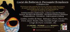 Aulas de Percussão Brasileira