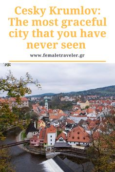 Cesky Krumlov: The most graceful city that you have never seen * Translation button at the top*