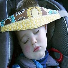 2.09AUD - Car Auto Seat Sleep Aid Head Support Belt Band For Travel Kid Child Protector Lg #ebay #Home & Garden
