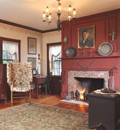 wow, another gorgeous fireplace