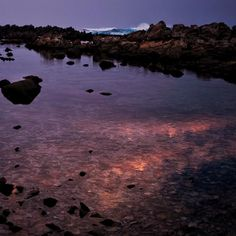 Sometimes you have to look down to see up. One of my favorites from a recent sunset adventure. #sunset #sundown #rockpools #seapool #tidalpool #pool #sea #seawater #reflection #photo #photography #portelizabeth #easterncape #southafrica